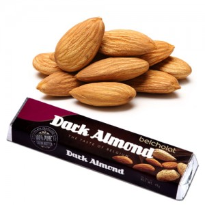 Dark Chocolate with Almond 45g