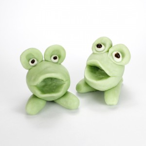 Chocolate Figure – Green Frog