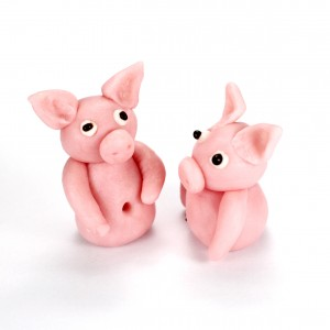 Chocolate Figure – Pink Pig