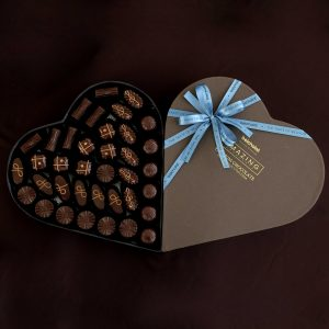 Fly me to the Moon – Chocolate Heart