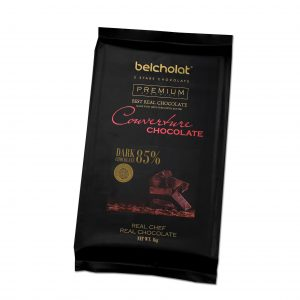 Extra Bitter Chocolate Couverture 85% – 1kg