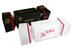 Xmas Gift box (Black & White)