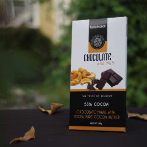 Dark Chocolate with NUT 58%