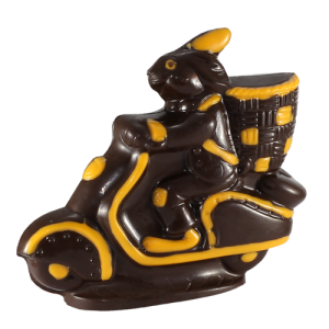Driving Rabbit Chocolate