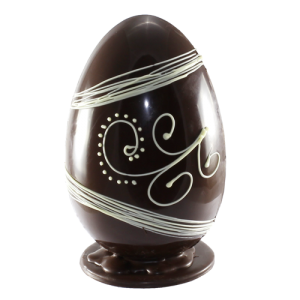 Huge Standing Chocolate Egg
