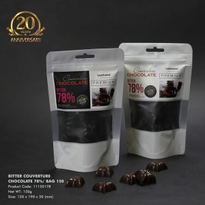 Bitter Couverture Chocolate 78%/ Bag 150