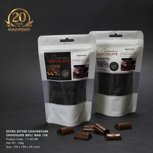 Extra Bitter Couverture Chocolate 88%/ Bag 150