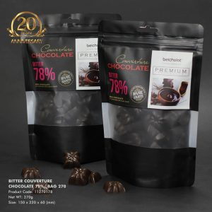 Bitter Couverture Chocolate 78%/ Bag 270