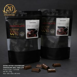 Extra Bitter Couverture Chocolate 88%/ Bag 270